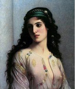 La belle juive painting by Charles Landell